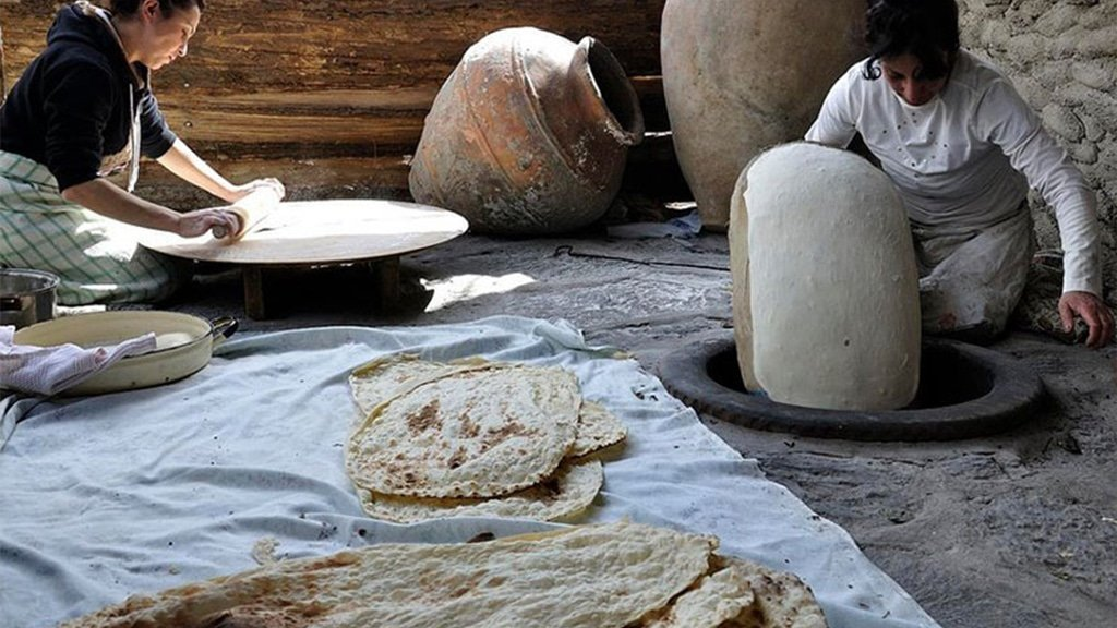 Armenian National Bread Lavash by Breadmasters ARA-Z. Lavash is not just bread, it's part of history and culture, and it has its own legend.