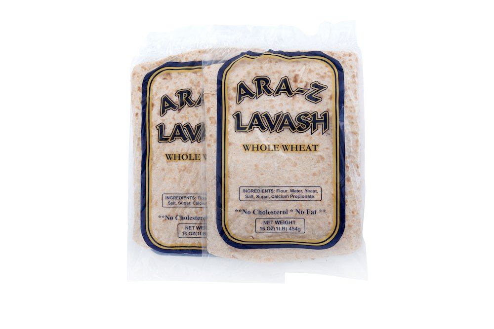 ARA-Z LAVASH WHOLE WHEAT FLAT BREAD BY BREADMASTERS ARA-Z ORDER ONLINE NOW 2 PACKS-min