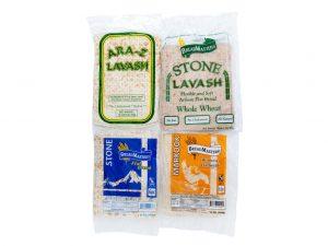 ARA-Z Flatbread Variety Flatbread Pack. ARA-Z Lavash, Markook, ARA-Z Whole Wheat & Stone Lavash. Order now and taste the variety of delicious bread!