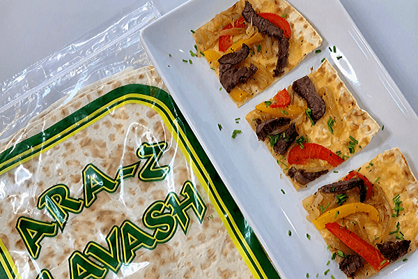 Cheese-Steak-Flatbread-sandwich-wrap-breadmasters-breadmasters.com-araz-arazlavash-recipe-lavash