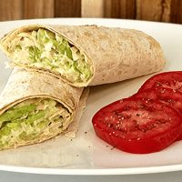 Tuna Salad Wrap Recipe With Markook Lavash Thinnest Flatbread by Breadmasters ARA-Z. Albacore tuna, crisp celery, spicy onions and fresh lettuce.