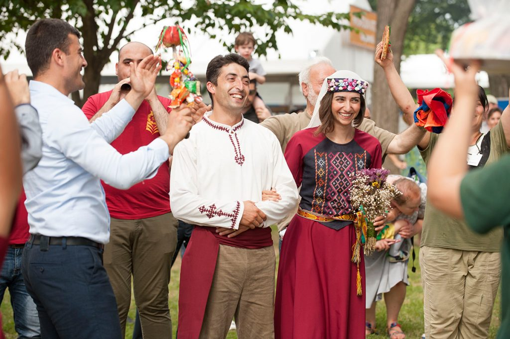 Lavash Tradition Armenian Culture and Weddings. In Sabirabad District of Azerbaijan after a wedding, the bride and groom enters the house and they...