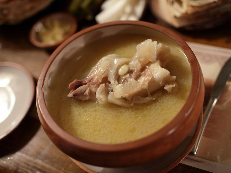A Short History of Khash (Soup) - Armenians swear by khash's panacean powers, particularly in the winter, when it's customarily eaten.